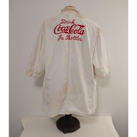 【 ~1950s  Coca Cola 】White duck   Work jacket