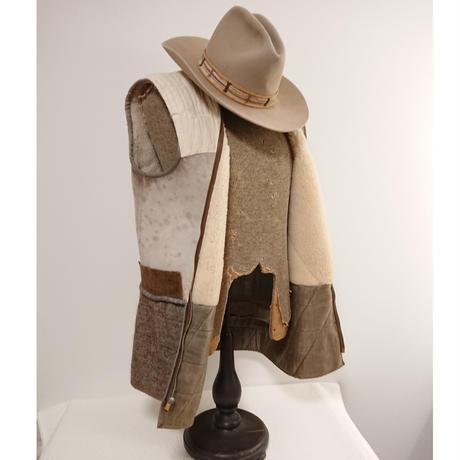 Vintage  Euro Mouton liner vest.