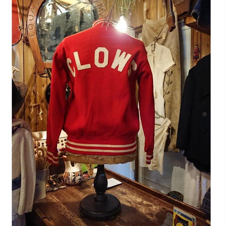 【 ~1950s  COANE 】Wool  Stadium jacket
