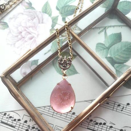 ヴィンテージ FrostロザリンFlower&Leaf ネックレス