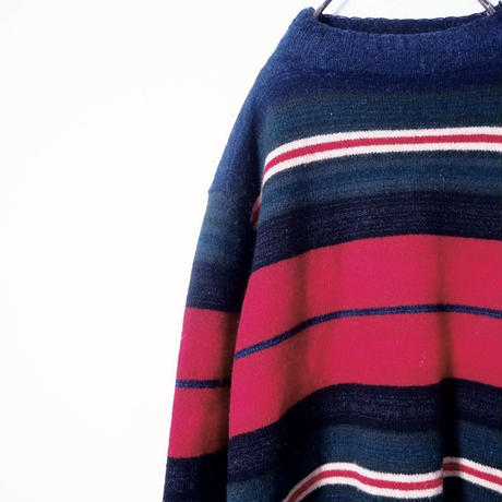 """Ralph Lauren""Multi Border Knit"