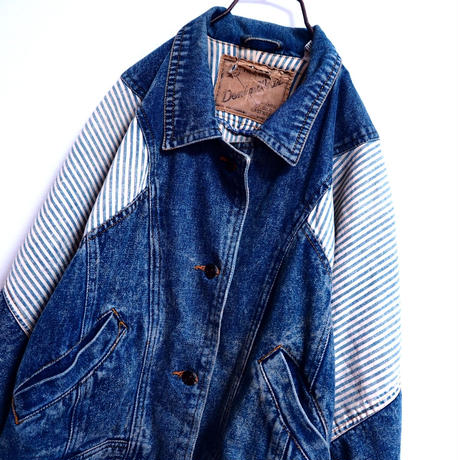 Hickory Denim Blouson