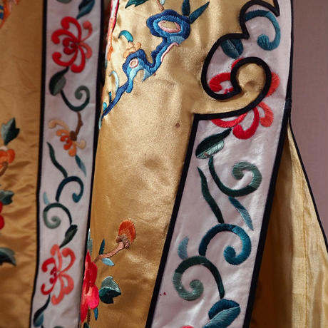 Vintage Silk China Robe