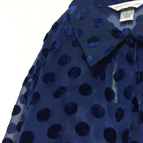 Sheer  Dot Shirt