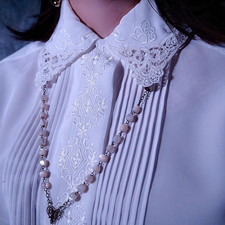 Design Collar  Blouse