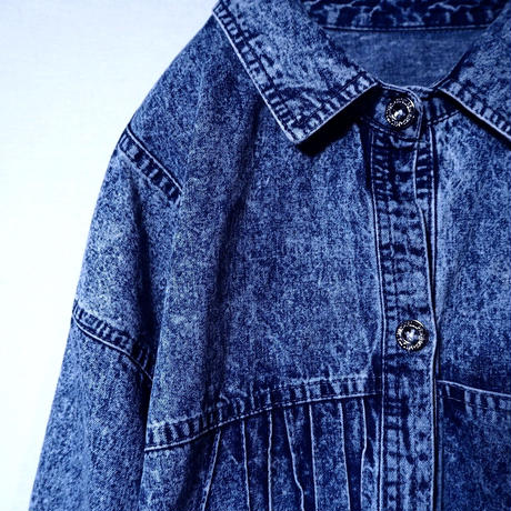 Emblem Denim Shirt