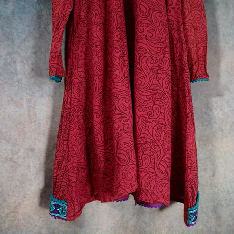 India Cotton Tunic Dress