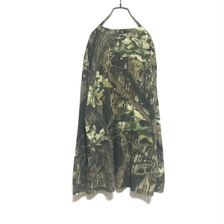 Tree Camo Long  T-shirt