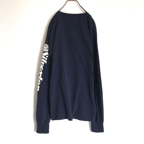 Sleeve Print Long T-shirt
