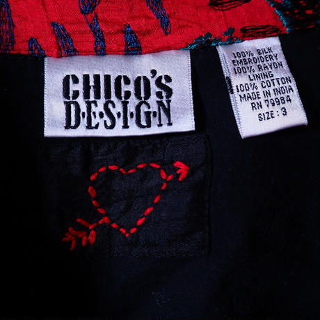 Chico's Design Silk Jacket