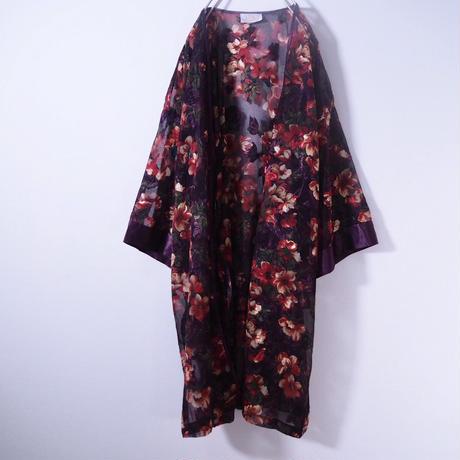 Sheer Design   Flower gown