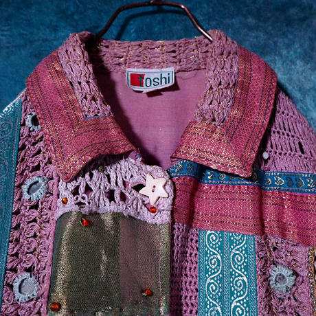 Patchwork Embroidery  Jacket