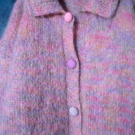 Candy Color Knit Cardigan