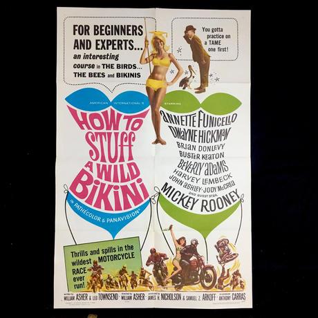 How to Stuff a Wild Bikini (1965)