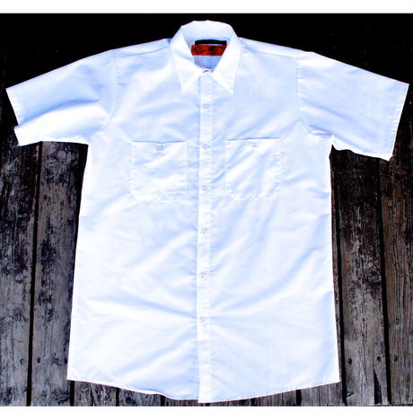 2017  JOHNNY×RED KAP   S/S WORK  SHIRTS【WHT】