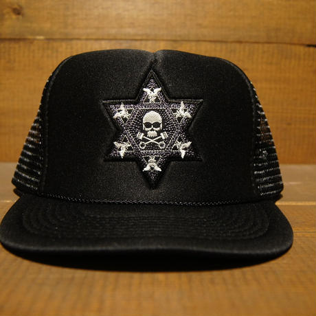 2018 JOHNNY CAP 【BLACK】HEXAGON×JOHNNY666