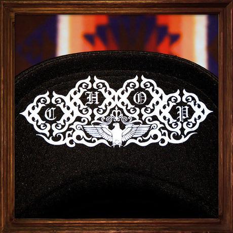 JOHNNY MESH CAP 【BLACK】ROUND VISER/CHOP