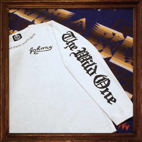 JOHNNY Long Tee【White】