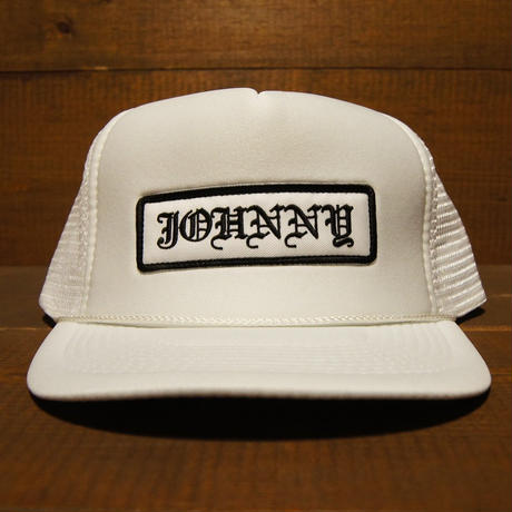 2018 JOHNNY CAP 【WHITE】JOHNNY×CHOP