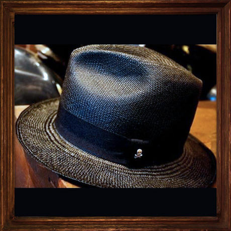 JOHNNY PANAMA HAT 【BLACK】