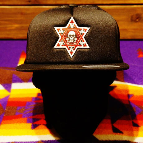 2017 JOHNNY CAP 【BLACK & BLACK】HEXAGRAM