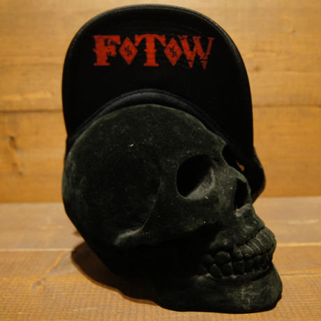 2018 JOHNNY CAP 【BLACK】JOHNNY×F.T.W(RED PRINT)