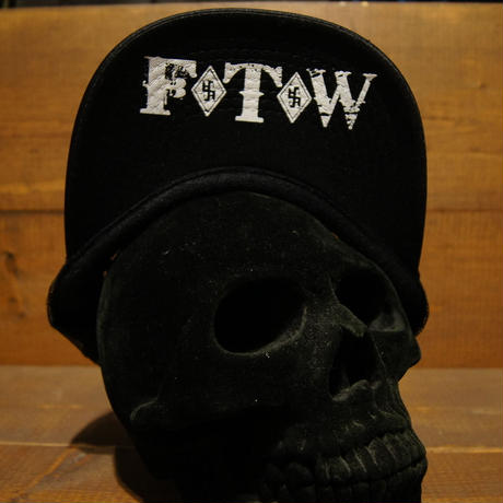 2018 JOHNNY CAP 【BLACK】HEXAGON×FTW