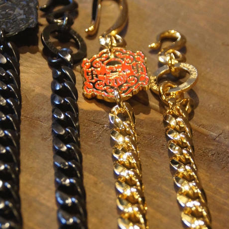 JOHNNY WALLET CHAIN 【ALL BLACK】
