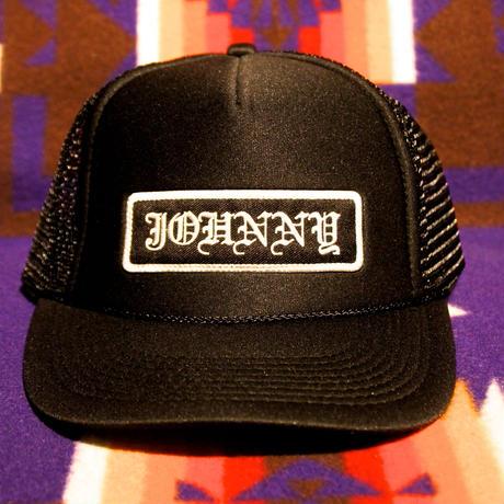 JOHNNY MESH CAP 【BLACK】FLAT VISER/FTW