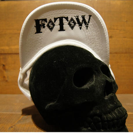 2018 JOHNNY CAP 【WHITE】JOHNNY×F.T.W