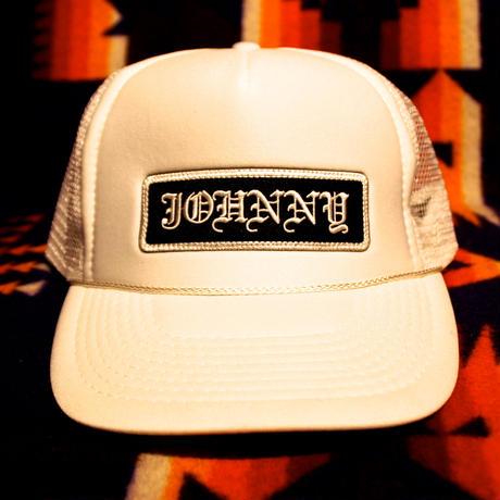 JOHNNY MESH CAP 【WHITE】FLAT VISER/CHOP