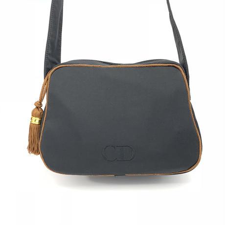 Christian Dior クリスチャン ディオール ロゴ ハンドバッグ ブラック vintage ヴィンテージ オールド