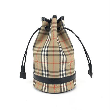 Burberrys' バーバリーズ クラシックチェック 巾着 ミニ ハンドバッグ vintage ヴィンテージ オールド ノヴァチェック