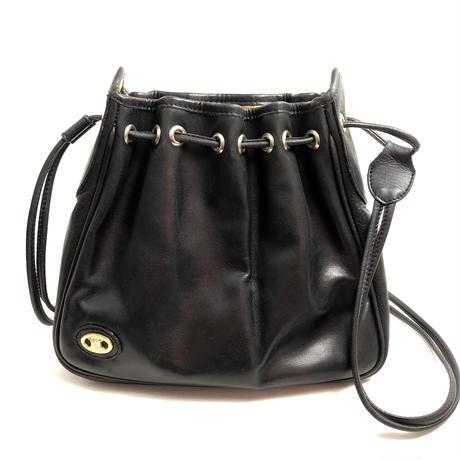 CELINE セリーヌ ブラゾン 巾着 ブラック vintage ヴィンテージ オールドセリーヌ
