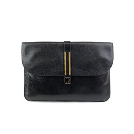 Christian Dior クリスチャン ディオール CDロゴ クラッチバッグ ブラック vintage ヴィンテージ オールド