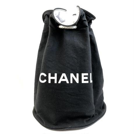 CHANEL シャネル プールバッグ 巾着 リュック vintage ヴィンテージ オールド