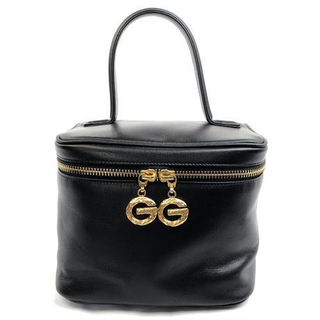 GIVENCHY ジバンシィ G金具 バニティバッグ ハンドバッグ ブラック vintage ヴィンテージ オールド