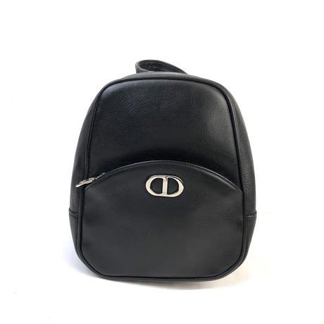 Christian Dior クリスチャン ディオール CD ロゴ リュック ブラック vintage ヴィンテージ オールド