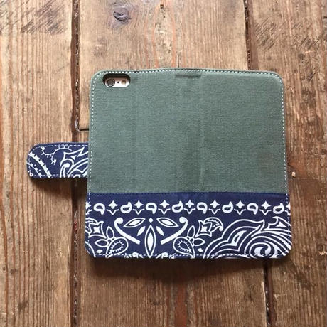 Bandanna x O.D. Green  iPhone6/6s Case, Navy