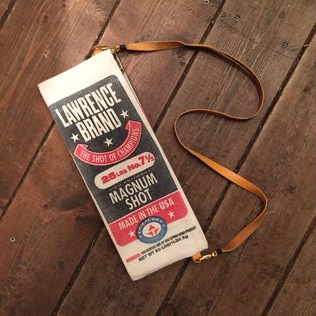 Vintage Lead Shot Pouch, Lawrence