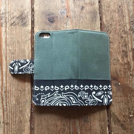 Bandanna x O.D. Green  iPhone6/6s Case, Black