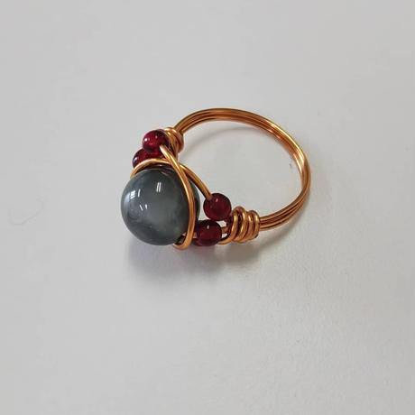 セラフィナイトの指輪