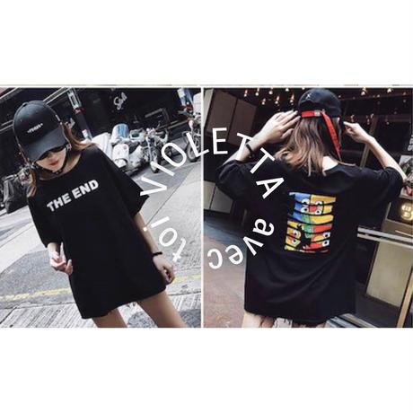 ユニセックス☆セサミストリート☆Tシャツ☆BLACK