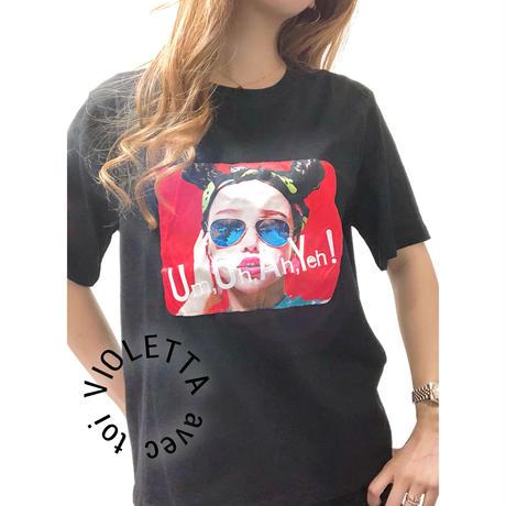 Um,Oh,Ah,Yeh!Tシャツ☆BLACK