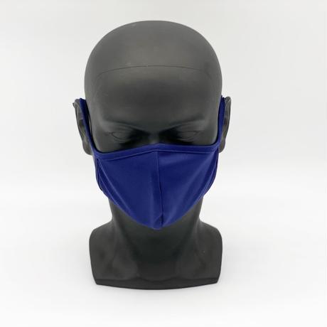 制菌+消臭 洗える高機能布マスク【Navy】