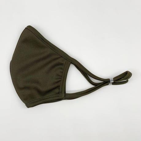 制菌+消臭 洗える高機能布マスク【Khaki】