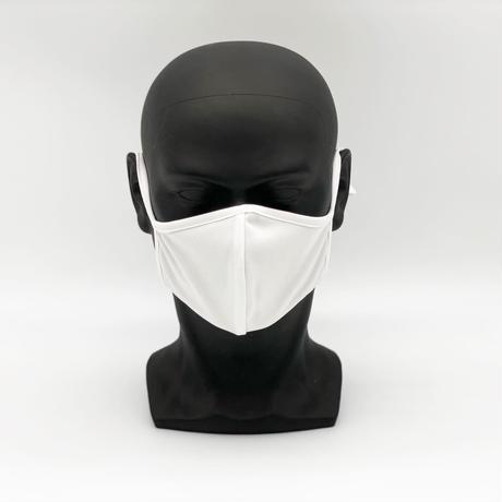 制菌+消臭 洗える高機能布マスク【White】