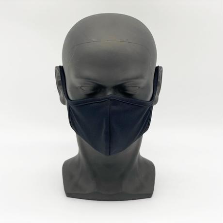 制菌+消臭 洗える高機能布マスク【Black】