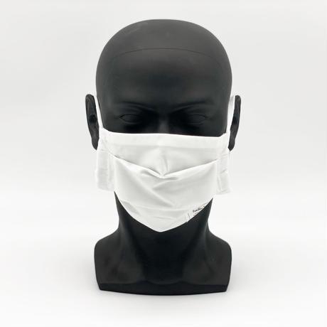 接触冷感マスク【White】プリーツタイプ