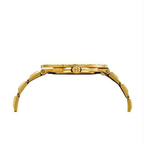 006-02 Nove トライデント Gold 200m防水 超薄型ダイバーズウォッチ